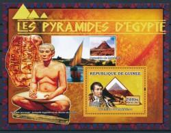 D- [400556] **/Mnh-Guinée 2007 - Les Pyramides D'Egypte, Mykérinos, Antiquités Egyptienne, Musée Du Louvre - Musées