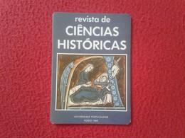 CALENDARIO DE BOLSILLO MANO PORTUGAL PORTUGUESE CALENDAR 1991 REVISTA DE CIENCIAS HISTÓRICAS UNIVERSIDADE PORTUCALENSE - Calendarios