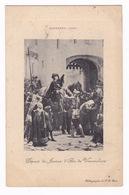 CPA Jean-Jacques Scherrer (1855-1916), Départ De Jeanne De Vaucouleurs,1886, Mairie De Vaucouleurs. A Voyagé En 1909 - Storia