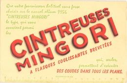 "Buvard "" Cintreuses Mingori "" ( Pliures, 20.5 X 13.5 Cm ) - Coffee & Tea"