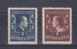248A -249A - DENT 12.5X12 -  COTE 330.-- CHF - Liechtenstein