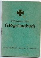 ALLEMAGNE EVANGELISCHES FELDGESANGBUCH Militaria - Christianisme