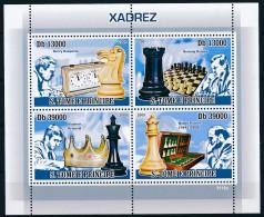 D- [400693] **/Mnh-Sao Tomé-et-Principe 2009 - Joueurs D'échecs - Echecs