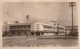 GUYANA GUIANA BRITISH - GEORGETOWN - STORE OF WM FOGARTY LTD.  - REAL PHOTO POSTCARD - 2 SCANS - Postcards