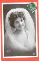 79 De SAINT MAIXENT  Je Vous Adresse Ce Souvenir - Jolie Femme Au Voile Blanc - Saint Maixent L'Ecole