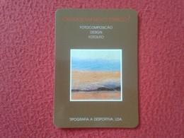 CALENDARIO DE BOLSILLO MANO PORTUGAL PORTUGUESE CALENDAR 1991 TIPOGRAFIA A DESPORTIVA LDA PORTO VER FOTO/S Y DESCRIPCIÓN - Calendarios
