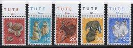 SVIZZERA 1965 - PRO JUVENTUTE - FAUNA LOCALE - ANIMALI- SERIE COMPLETA - MNH ** - Unused Stamps