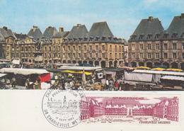 Carte  Maximum   1er  Jour    FRANCE   CHARLEVILLE  MEZIERES    1983 - Cartes-Maximum