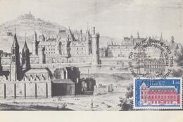Carte  Maximum   1er  Jour    FRANCE   Abbaye  De  SAINT  GERMAIN  DES  PRES    1979 - Cartes-Maximum