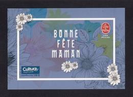CPM.   Fête Des Mères.  Bonne Fête Maman.   Cultura-Le Livre De Poche.  Fleurs. - Fête Des Mères