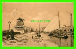 AMSTERDAM, PAYS BAS - KOSTVERLOREN VAART - ANIMATED -  TRAVEL IN 1910 - - Amsterdam
