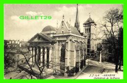 GENÈVE, SUISSE - CATHÉDRALE DE ST-PIERRE -  JULLIEN FRÈRES, ÉDITEURS - J. J. - - GE Genève