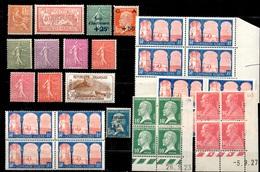 France Belle Petite Collection Neufs ** MNH 1903/1930. Bonnes Valeurs. TB. A Saisir! - France