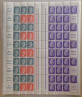 Allemagne/Reich Belle Feuille Entière De 1941 Neufs ** MNH.  Combinaisons Et Textes. B/TB. A Saisir! - Allemagne