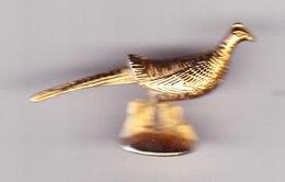 1 Fève Dorée Faisan Sa Majesté L'oiseau D'or Prime 2000 - Animali
