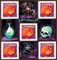 Feuillet ** Gomme Intacte Halloween De 2001 - Blocs & Feuillets