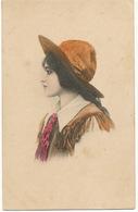 Tres Belle Femme Profil  Cow Girl Cirque ? Buffalo Bill Circus ? - Illustrateurs & Photographes