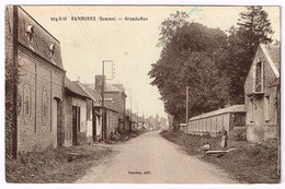 RAMBURES 1910 Grande Rue - France