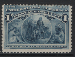 Stati Uniti 1893 Unif.100 */MH VF/F - Unused Stamps
