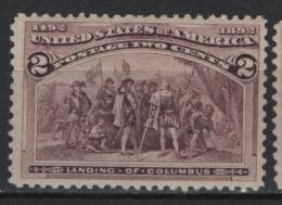 Stati Uniti 1893 Unif.101 */MH VF/F - Unused Stamps