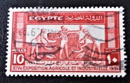 ROYAUME - 14 EME EXPO AGRICOLE ET INDUSTRIELLE AU CAIRE 1931 - OBLITERE - YT 142 - Egypt