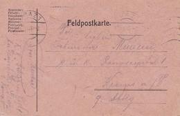 Feldpostkarte - Graz Nach Krems - K.k. Schützen Regt 1 - 1915 (34613) - 1850-1918 Imperium