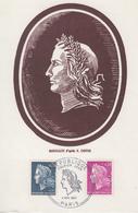 Carte  Maximum  1er  Jour   Paire   MARIANNE  De   CHEFFER   1967 - Cartes-Maximum