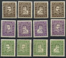 Danemark (1924) N 153 A 164 (charniere) - 1913-47 (Christian X)