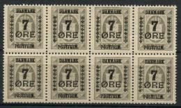 Danemark (1926) N 175 (Luxe) (Bloc De 8) - 1913-47 (Christian X)