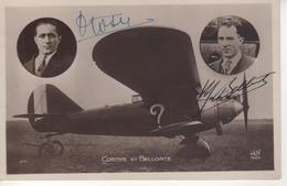 AVIATION  -   COSTES  Et  BELLONTE - Aviation