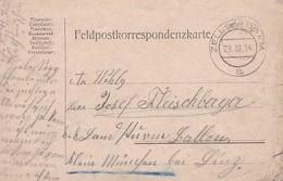 Feldpostkarte - Zell An Der Pram - 1914 (34616) - 1850-1918 Empire