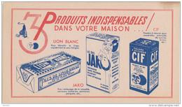 3 PRODUITS INDISPENSABLES / LION BLANC / JAKO / CIF - Wash & Clean