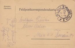 Feldpostkarte - Iglau - 1914 (34618) - 1850-1918 Empire