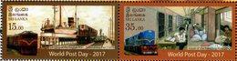 Sri Lanka - 2017 - World Post Day - Mint Stamp Set - Sri Lanka (Ceylon) (1948-...)