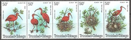 TRINIDAD ET TOBAGO 1980  (Yvert 413 417 ) - Oiseaux  (MNH) Sans Trace De Charnière - 026 - Trinité & Tobago (1962-...)