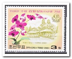 Noord Korea 2003, Postfris MNH, Flowers - Korea (Noord)
