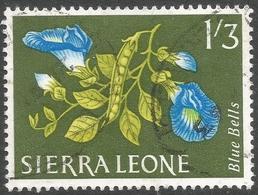 Sierra Leone. 1963 Flowers. 1/3 Used. SG 250 - Sierra Leone (1961-...)