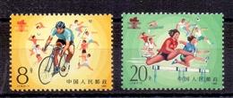 Chine N° 2745 A 2746 Neuf Sans Charniere XX MNH - 1949 - ... Repubblica Popolare