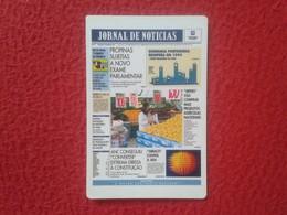 CALENDARIO DE BOLSILLO MANO PORTUGAL PORTUGUESE CALENDAR 1994 JORNAL DE NOTICIAS VER FOTO/S Y DESCRIPCIÓN. IDEAL COLECCI - Tamaño Pequeño : 1991-00