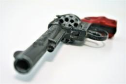 Vintage TOY GUN : LONE STAR TRIAL BOSS ENGLAND - L=23cm - 19??s - Keywords : Cap Gun - Cork - Rifle - Revolver - Pistol - Armes Neutralisées