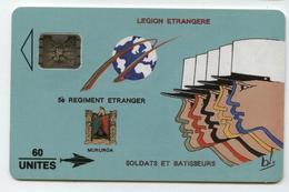PF11 Légion étrangère 60u (n° De Lot 39400) - French Polynesia