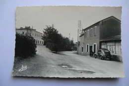 CPA 13 BOUCHES DU RHONE ROGNAC. Bar De La Gare. 1956. - Francia