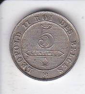 MONEDA  DE BELGICA DE 5 CENTIMES DEL AÑO 1895  (COIN) - 1865-1909: Leopoldo II