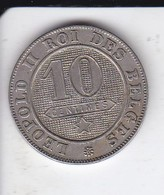 MONEDA  DE BELGICA DE 10 CENTIMES DEL AÑO 1901  (COIN) MUY RARA - 04. 10 Céntimos