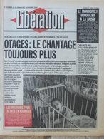 Libération 1er/2 Sept 1990 - Otages Irak - Mouroirs Enfants Roumanie - Immobilier Baisse - Demy-Varda - 1950 - Oggi