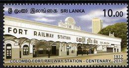 Sri Lanka - 2017 - Colombo Fort Railway Centenary - Mint Stamp - Sri Lanka (Ceylon) (1948-...)