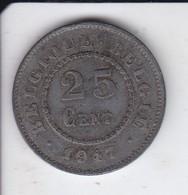 MONEDA  DE BELGICA DE 25 CENTIMES DEL AÑO 1917  (COIN) - 05. 25 Céntimos