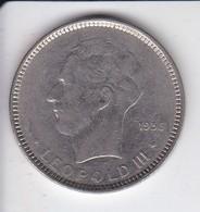 MONEDA  DE BELGICA DE 5 FRANCS DEL AÑO 1936  (COIN) - 1934-1945: Leopoldo III
