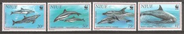 NIUE 1993 (Yvert 614-17) - WWF Dauphin (MNH) Sans Trace De Charnière - 027 - Niue