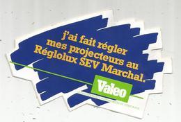 AUTOCOLLANT, Projecteurs SEV MARCHAL , VALEO - Stickers